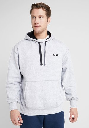 PERFORMANCE ORIGINATORS HOODIE - Hoodie - steel light heather/black