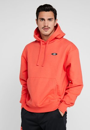 PERFORMANCE ORIGINATORS HOODIE - Hoodie - martian red/black