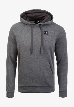 RIVAL - Mikina s kapucí - charcoal light heather
