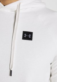 Under Armour - RIVAL - Hoodie - onyx white/black - 4