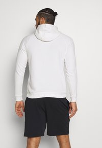 Under Armour - RIVAL - Hoodie - onyx white/black - 2