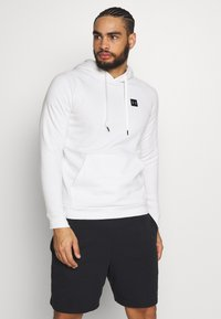 Under Armour - RIVAL - Hoodie - onyx white/black - 0