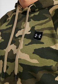 Under Armour - RIVAL CAMO HOODY - Hættetrøjer - outpost green/black - 4