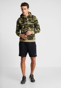 Under Armour - RIVAL CAMO HOODY - Hættetrøjer - outpost green/black - 1
