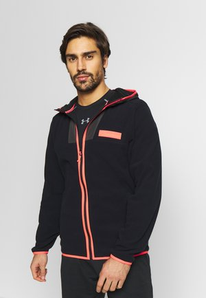 POLAR FULL ZIP - Kurtka z polaru - black