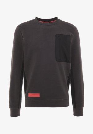 POLAR CREW - Fleece jumper - jet grey/black