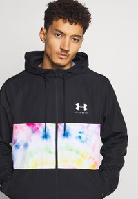 Under Armour - PRIDE SPORTSTYLE WIND HOODED JACKET - Veste coupe-vent - white/black - 4