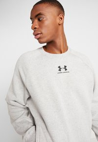 Under Armour - SPECKLED FLEECE CREW - Sweater - light grey - 4