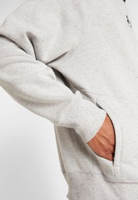 Under Armour - SPECKLED FLEECE CREW - Sweater - light grey - 3