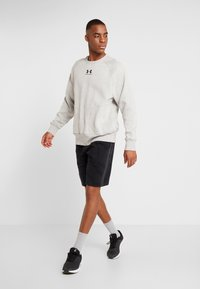 Under Armour - SPECKLED FLEECE CREW - Sweater - light grey - 1