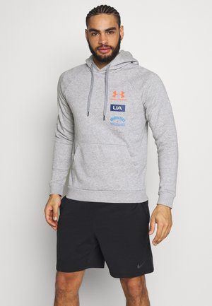 RIVAL ORIGINATORS HOODIE - Luvtröja - steel light heather/beta