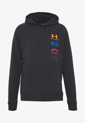 RIVAL ORIGINATORS HOODIE - Hoodie - black/orange spark