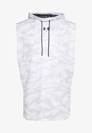 BASELINE SLEEVELESS HOODIE - Top - white/black