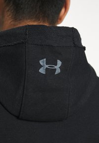 Under Armour - PROJECT ROCK HOODIE - Sweat à capuche - black full heather/summit white - 5