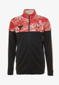 Under Armour - PROJECT ROCK TRACK JACKET - Giacca sportiva - black/versa red - 3