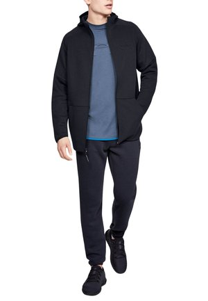 UNSTOPPABLE MOVE LIGHT - Hoodie met rits - anthracite