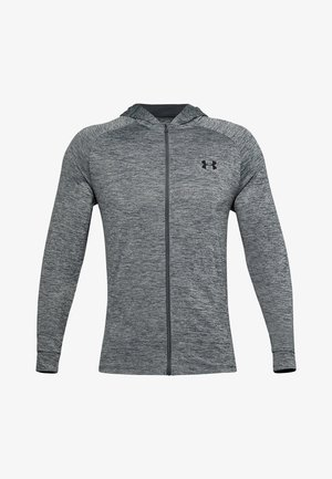 Zip-up hoodie - pitch gray