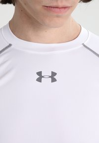 Under Armour - COMP - Sports shirt - weiß/grau - 3