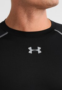 Under Armour - COMP - Sports shirt - schwarz/grau - 3