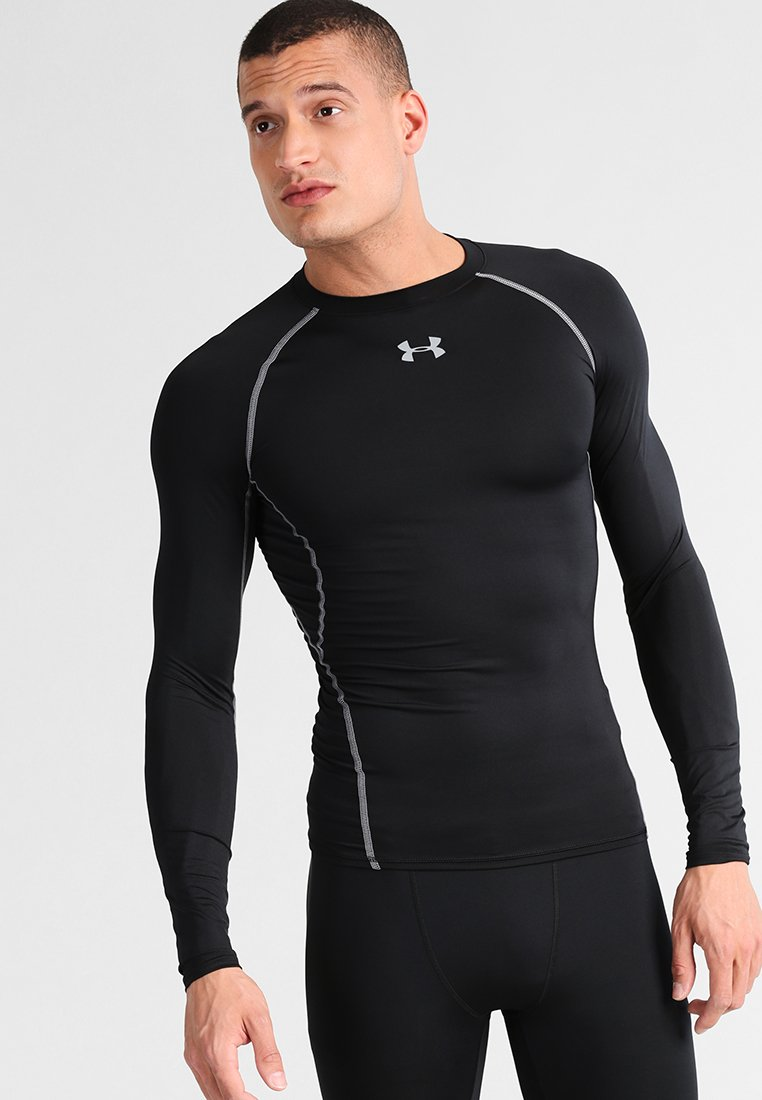 Under Armour - COMP - Sports shirt - schwarz/grau