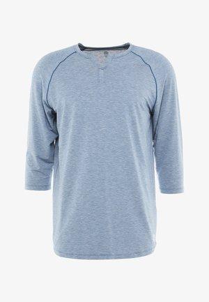 RECOVERY  - Funkční triko - petrol blue fade heather/metallic silver
