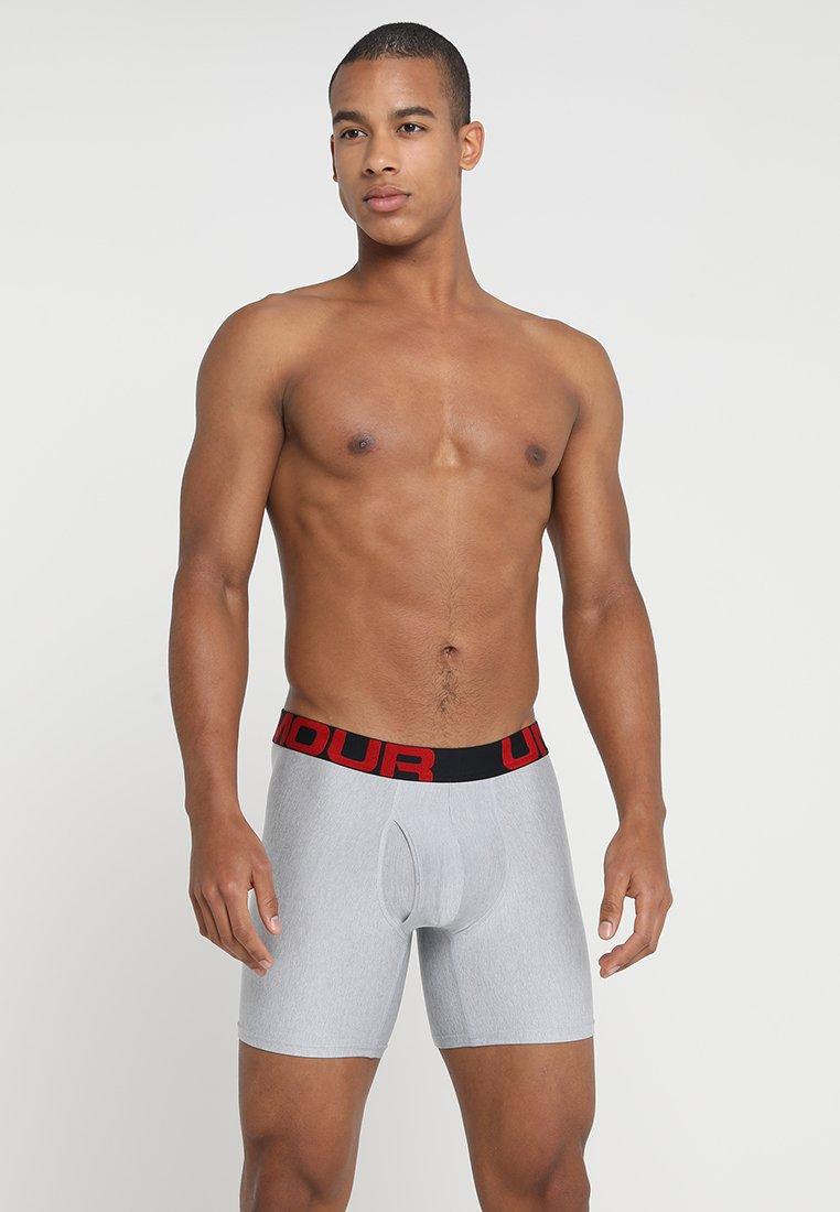 Under Armour - TECH 2 PACK - Panties - mod grey light heather/jet grey light heather
