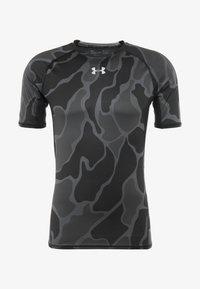 Under Armour - Camiseta estampada - black/halo gray - 3