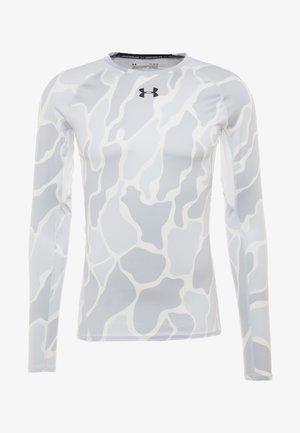 ARMOUR - Treningsskjorter - white/black