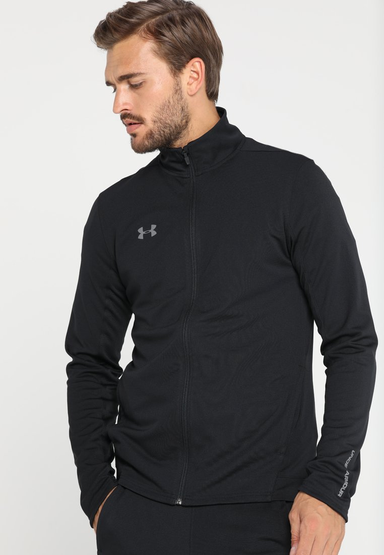 Under Armour - CHALLENGER KNIT WARM-UP - Träningsset - black