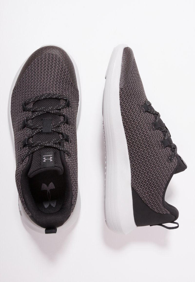 Under Armour - RIPPLE - Obuwie do biegania treningowe - black/elemental/metallic gun metal