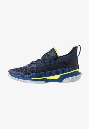 CURRY 7 - Basketbalové boty - bleu marine