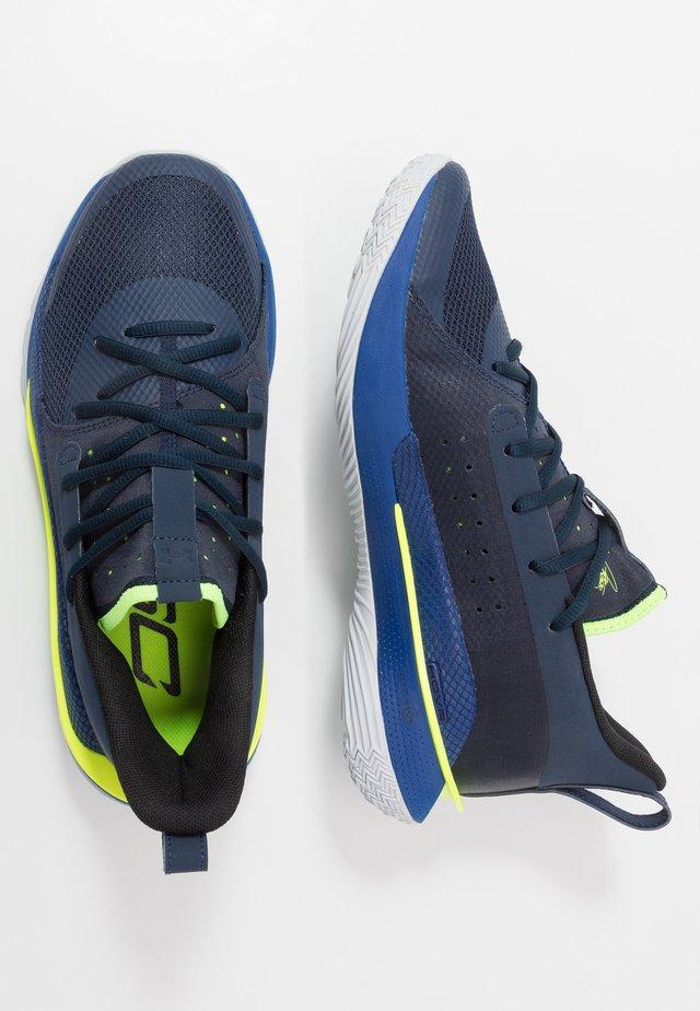 CURRY 7 - Chaussures de basket - bleu marine