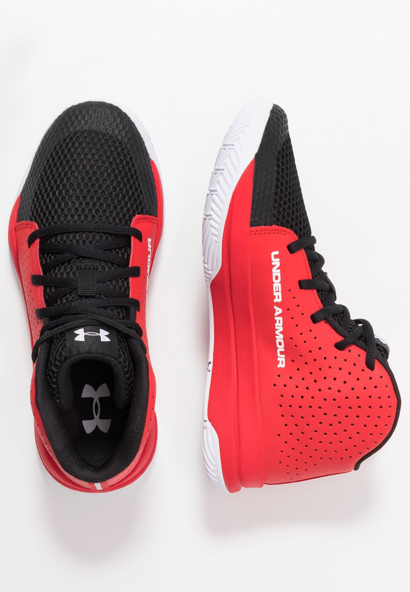 Under Armour - JET 2019 - Basketballsko - red/black/white