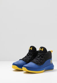 Under Armour - LOCKDOWN 4 - Chaussures de basket - royal/black/taxi - 3