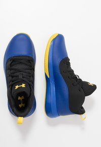 Under Armour - LOCKDOWN 4 - Chaussures de basket - royal/black/taxi - 0