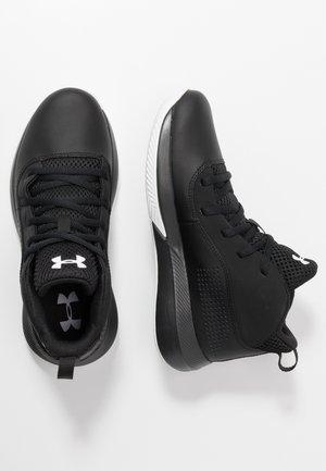 LOCKDOWN 4 - Basketbalschoenen - black/white