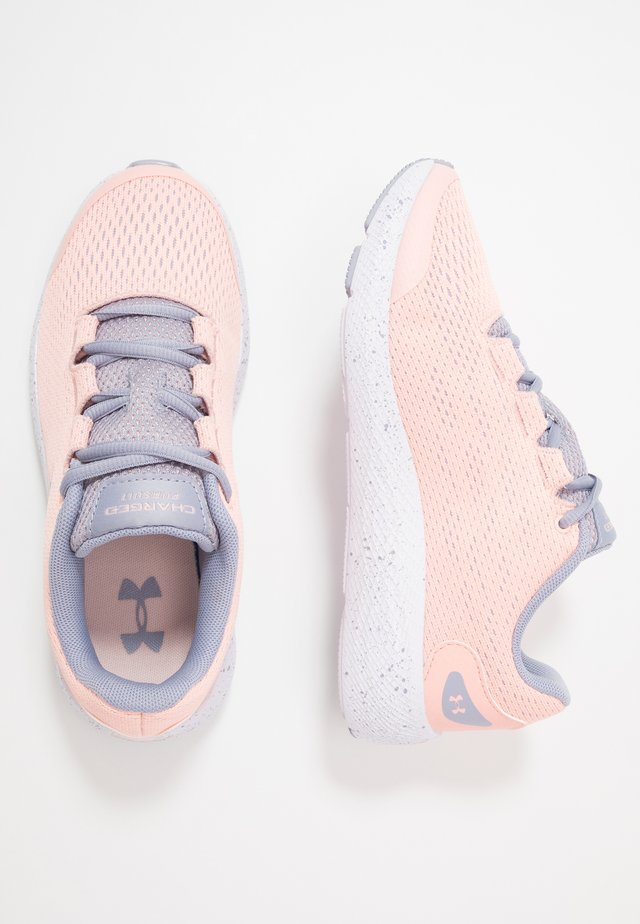 CHARGED PURSUIT 2 - Chaussures de running neutres - peach frost/purple dusk