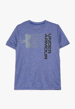 CROSSFADE TEE - T-shirt print - royal/graphite/black