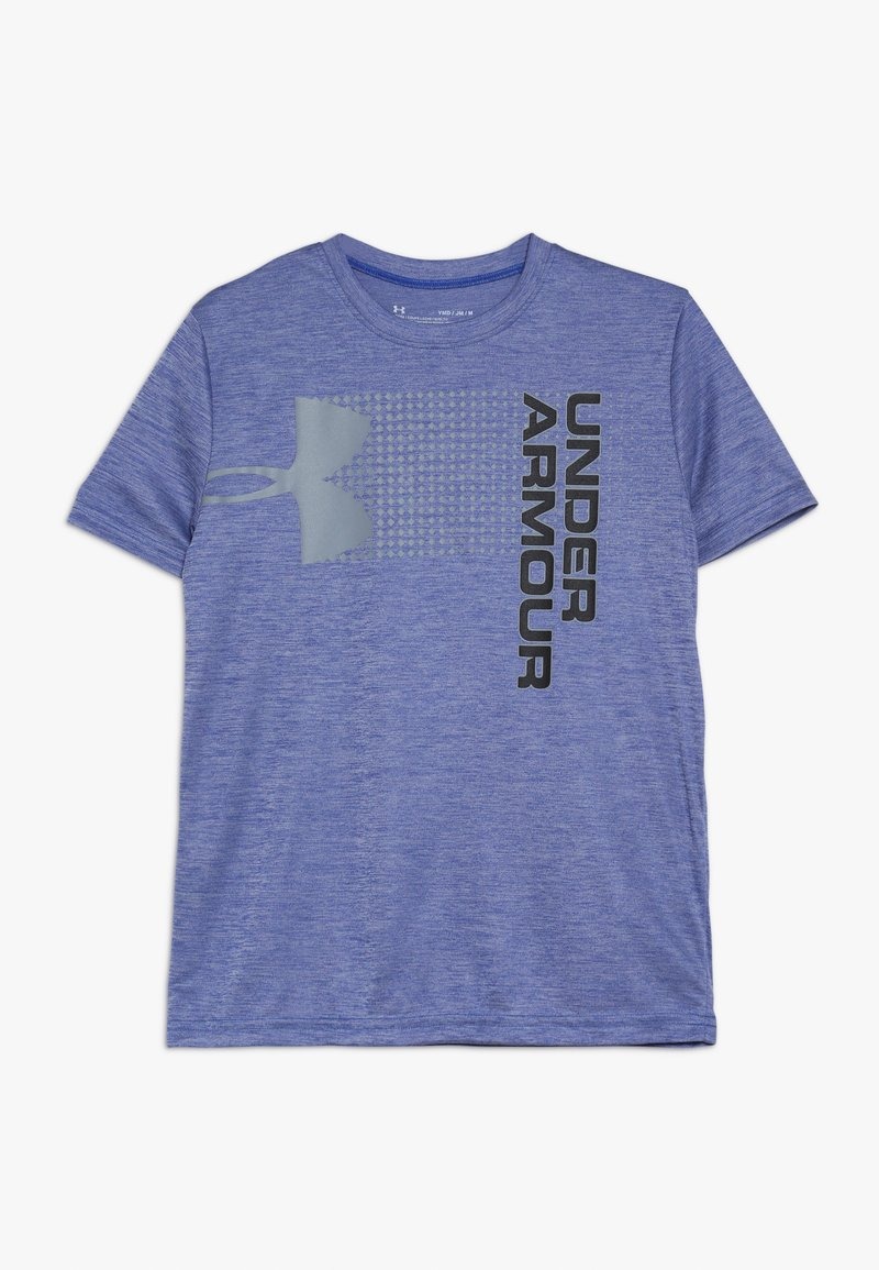 Under Armour - CROSSFADE TEE - Print T-shirt - royal/graphite/black
