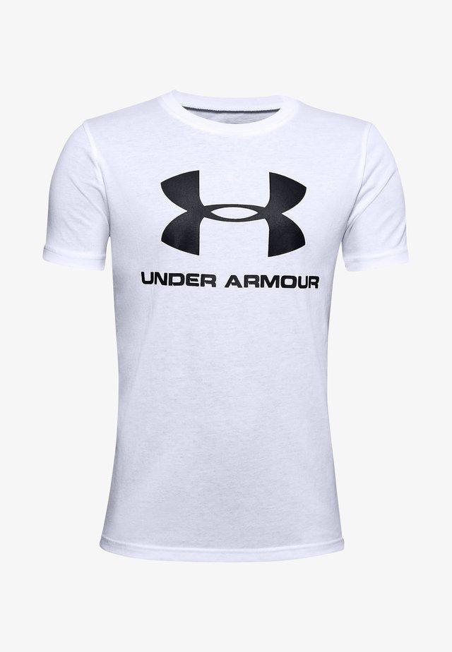 SPORTSTYLE LOGO - Camiseta estampada - white
