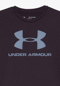 Under Armour - SPORTSTYLE LOGO - T-Shirt print - kinetic purple/ash gray - 3