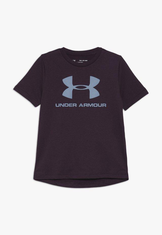 SPORTSTYLE LOGO - T-shirt con stampa - kinetic purple/ash gray