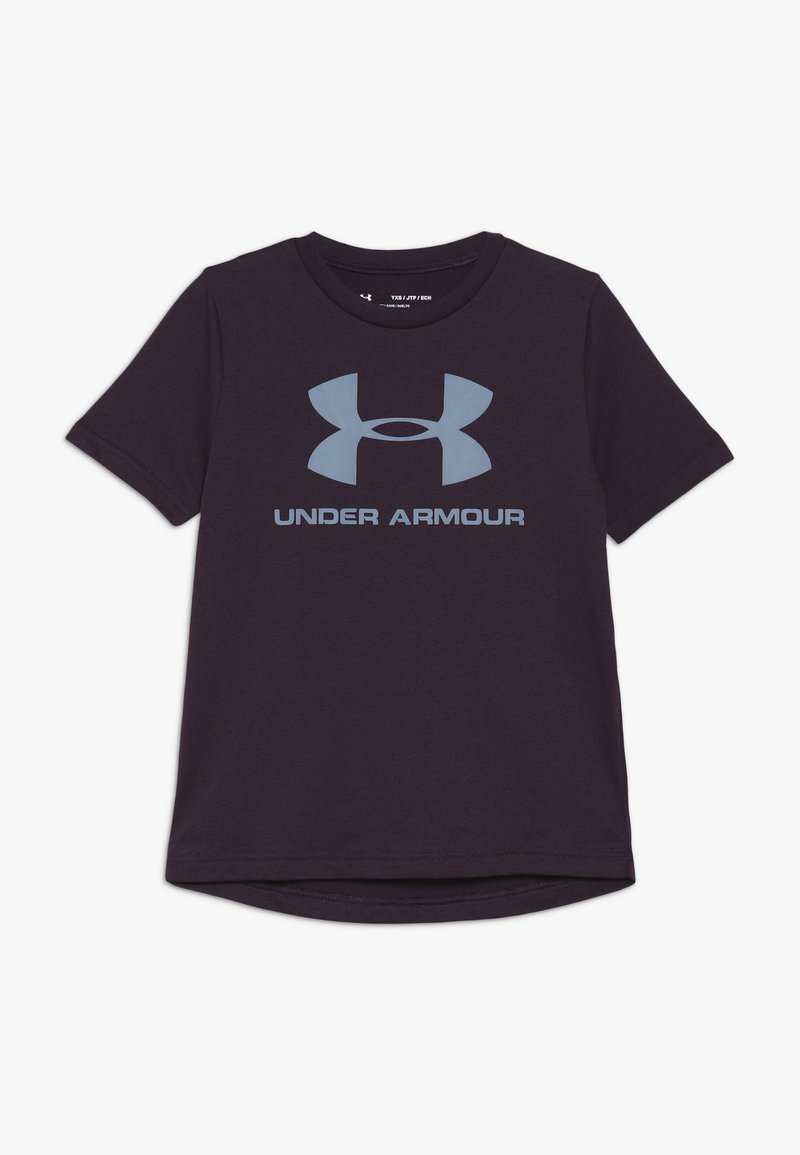 Under Armour - SPORTSTYLE LOGO - T-Shirt print - kinetic purple/ash gray
