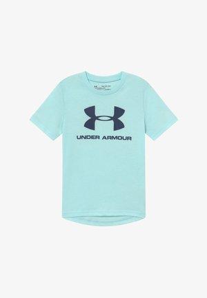 SPORTSTYLE LOGO - T-shirt imprimé - rift blue/blue ink