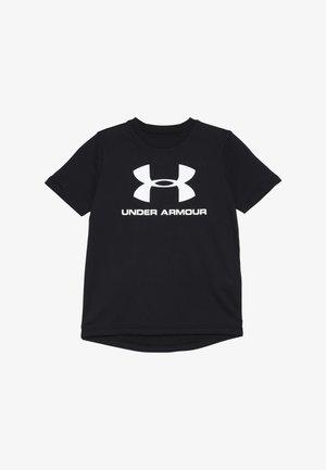 SPORTSTYLE LOGO - Camiseta estampada - black/white
