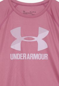 Under Armour - BIG LOGO TEE SOLID - T-shirt print - pace pink/pink fog - 3