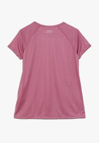 Under Armour - BIG LOGO TEE SOLID - T-shirt print - pace pink/pink fog - 1