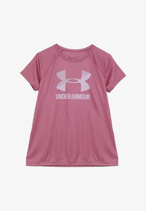 BIG LOGO TEE SOLID - Print T-shirt - pace pink/pink fog