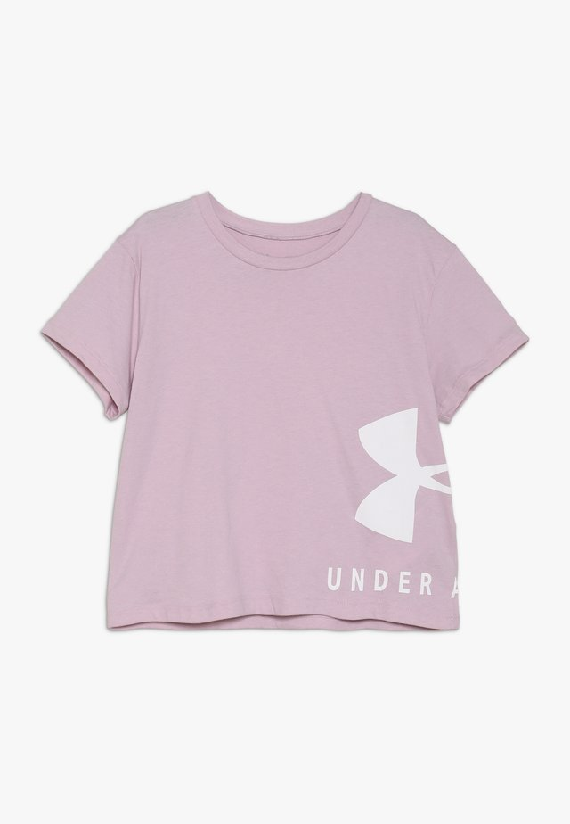 SPORTSTYLE TEE - Print T-shirt - pink fog/white