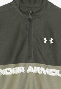 Under Armour - TECH 1/2 ZIP - Sports shirt - guardian green/outpost green/butter white - 4
